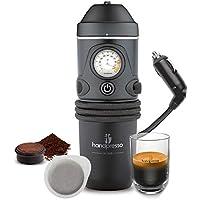 Handpresso Auto 48261 Macchina da caffè espresso per cialde ESE o caffè sciolto per l'auto 12V