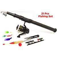 Michigan 2 Person Carp/Coarse Fishing Starter Set - Includes 2 x Rods & Reels, Line, Weights, Spinners, Floats & Carry Case