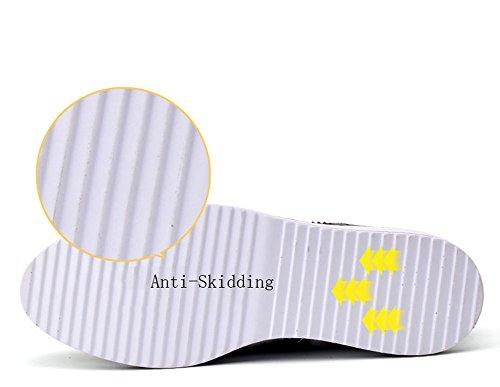 Damen Halbschuhe Brogues Schnürhalbschuhe Plateau Schuhe 4.5CM Schwarz Weiß Rot 35-40 Aprikose HINWEIS: Die Schuhe könnten ein bisschen schmal sein, besser wäre es, eine größere Größe zu wählen.