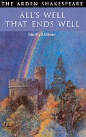 All-039-s-Well-That-Ends-Well-Arden-Shakespeare-Second-Series-Hunter-PBK-NEW