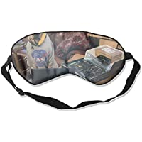 A Puppy With A Computer 99% Eyeshade Blinders Sleeping Eye Patch Eye Mask Blindfold For Travel Insomnia Meditation preisvergleich bei billige-tabletten.eu