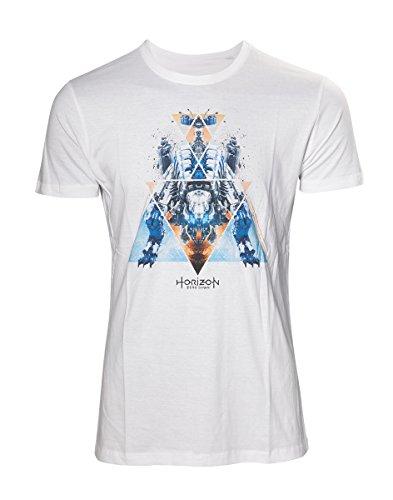 Preisvergleich Produktbild Horizon: Zero Dawn Dinosaur Mech T-Shirt weiß XL