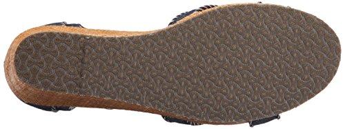 Skechers Womens Keilabsatz Sommer Sandalen Schuh Größe UK 3 - 8 Dunkel Marineblau