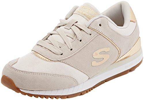 Skechers Sunlite-Revival, Scarpe da Ginnastica Donna, Avorio (off White), 36.5 EU