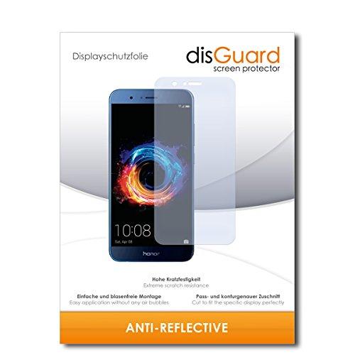 disGuard® Bildschirmschutzfolie [Anti-Reflex] kompatibel mit Honor 8 Pro [2 Stück] Entspiegelnd, Matt, Antireflektierend, Extrem Kratzfest, Anti-Fingerabdruck - Panzerglas Folie, Schutzfolie