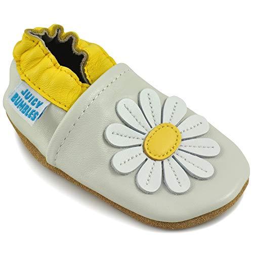 7bf580ca3d Zapatos Bebe Niña – Zapatillas Niña Patucos de Cuero Primeros Pasos –  Margarida 12-18