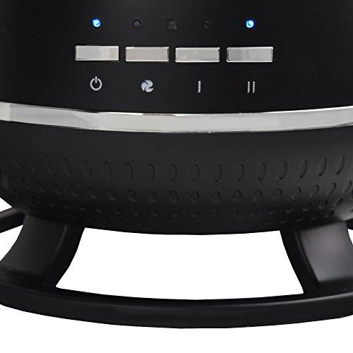 Syntrox Germany Design Keramik-Heizlüfter Standheizer 1800 Watt mit Fernbedienung CH-1800W Calor - 5