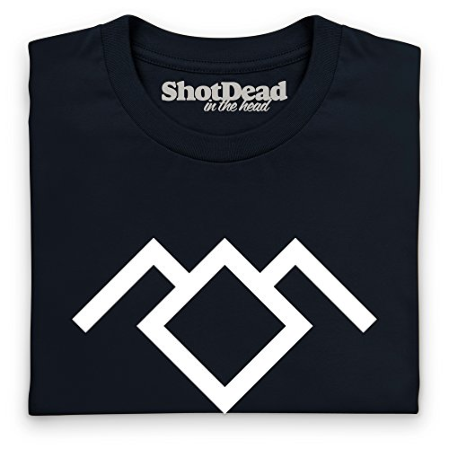 Inspired By Twin Peaks - Black Lodge Sigil Langarmshirt, Herren Schwarz