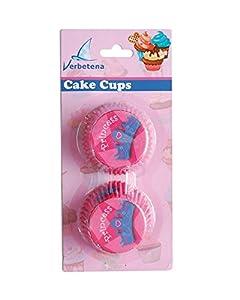 Verbetena - 48 capsulas para cakes con diseno de princesas (011050008)