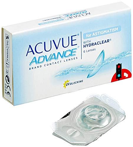 Acuvue Advance for Astigmatism 2-Wochenlinsen weich, 6 Stück / BC 8.6 mm / DIA 14.5 / CYL -0.75 / Achse 90 / -1.75 Dioptrien