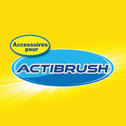 prezzo Actibrush–Set di 3spazzole di ricambio, ideale per pulire piastrelle, guarnizioni, docce, vasche, lavelli, guide di porte, mobili da esterno, ruote, barche, biciclette, ecc.