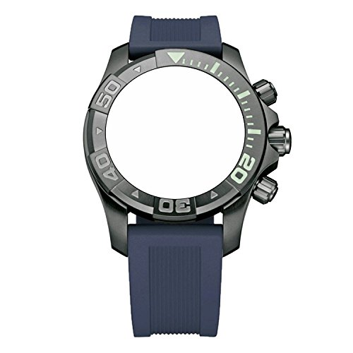 Victorinox Swiss Army Dive Master 500 Navy Blue Genuine Rubber Strap Diver Watch Band 20mm (Master Dive Swiss Victorinox Army)