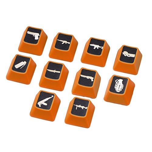 uRage Weapons Booster-Caps Tastenset orange -