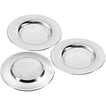 Abflußsieb Edelstahl Küche Waschbecken Spüle Sieb Abfluss