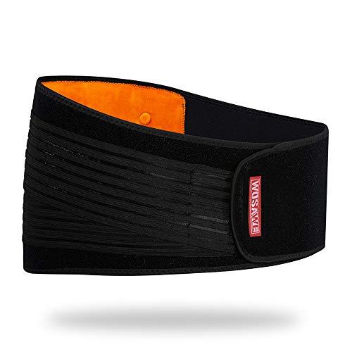WOSAWE Taillenband/Bauchstütze, dicker Kaschmir, Thermobund, Kompression, Sport, Fitness, Bauchschutz, für Männer und Frauen