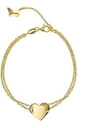 9b8cb4c17321 Amazon.es  joyas de oro 24 kilates - Pulseras   Mujer  Joyería