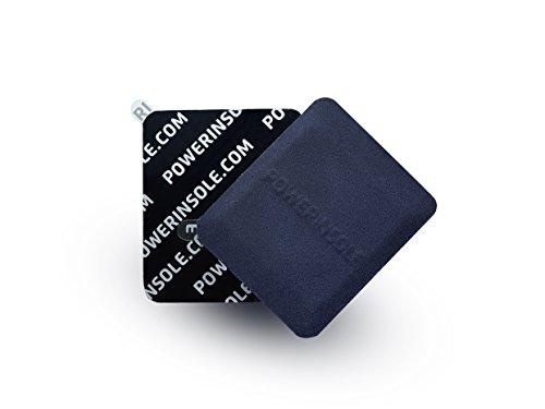 powerinsole Gel-Einlegesohle Stimulations-Chip Sport | Durchblutungs-Fördernd Dadurch Reduktion Von Muskelkater Krampf | Mehr Ausdauer Konzentration
