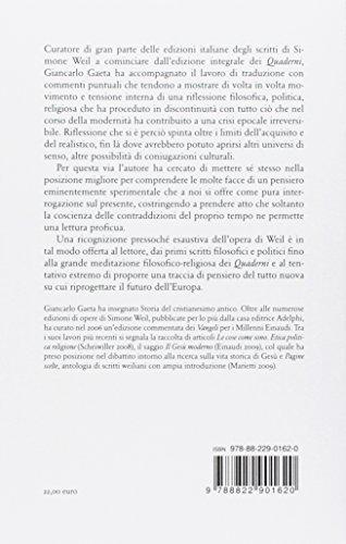 scaricare ebook gratis Leggere Simone Weil PDF Epub