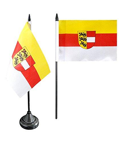 Tischflagge / Tischfahne Österreich Kärnten + gratis Aufkleber, Flaggenfritze®