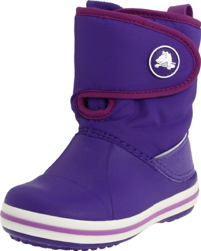Crocs Crocband Gust Boot Kids, Boots mixte enfant Ultraviolet/dahlia
