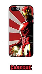 Caseque Marv Iron Man Back Shell Case Cover For Apple iPhone 5/5S