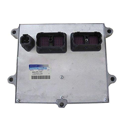Bagger Controller 600-475-1101-sinocmp steuereinheiten ECU für Komatsu PC130-8Teile pc138us-8Bagger Control PANLE, 1Jahr Garantie -