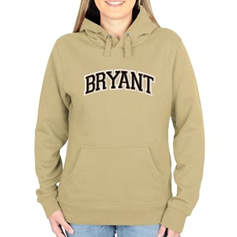Bryant Bulldogs Ladies Arch Name Pullover Hoodie Light