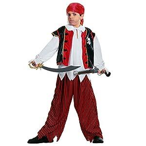 WIDMANN Treasure Island Pirate - Kids Costume 5-7 years (disfraz)