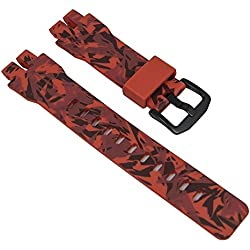 Casio Pro-Trek Ersatzband Resin Camouflage orange PRG-300CM-4 10502755