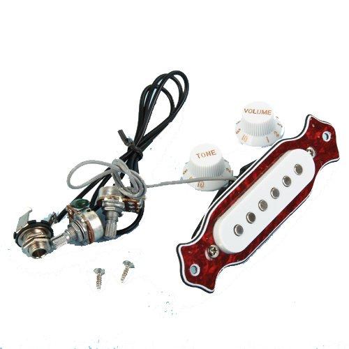 SODIAL(R) Single Spule Magnetische Akustischen Gitarre Abholung