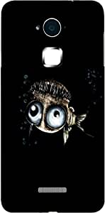 Timpax Light Weight One-piece construction Hard Back Case Cover Printed Design : A fish in an ocean.100% Compatible with Coolpad Note 3