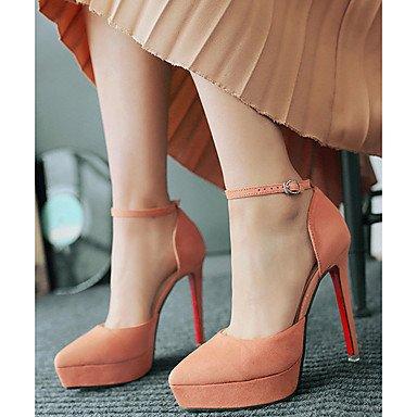 Moda Donna Sandali Sexy donna tacchi Comfort estivo Felpa casual Stiletto Heel altri Nero / Giallo / rosa / grigio altri gray