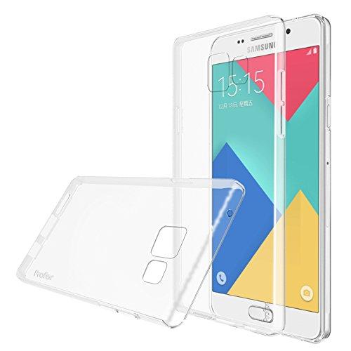 Samsung Galaxy A5 (2016) Hülle, Profer TPU Schutzhülle Tasche Case Cover Kratzfest Weich Flexibel Silikon Bumper für Samsung Galaxy A5 (2016)(SM-A510F) Nicht für Samsung A5 2014 (SM-A500FU) (durchsichtig)
