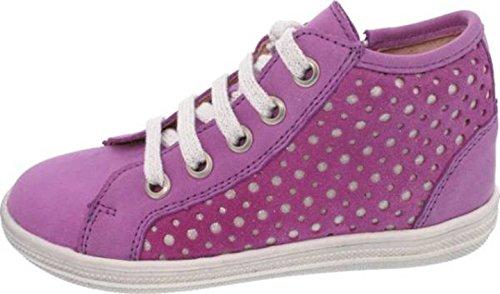 Helgas Modewelt , Chaussures de ville à lacets pour fille lila (Onyx glicine)