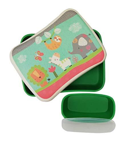 Fiambrera Bambu Infantil ♻ Pack Tupper Sandwichera