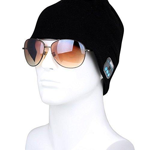 August EPA20 – Berretto Audio Bluetooth Stereo – Berrettino Termico Bluetooth con Cuffie Integrate, Microfono e Batteria Ricaricabile – Caldo e Morbido, Compatibile con Smartphone / PC / Tablet - 7