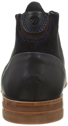 Hudson London Herren Matteo Suede Navy Chukka Boots Blau (Navy)