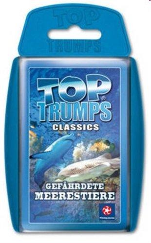 Winning Moves 60772 Top Trumps: Gefährdete Meerestiere
