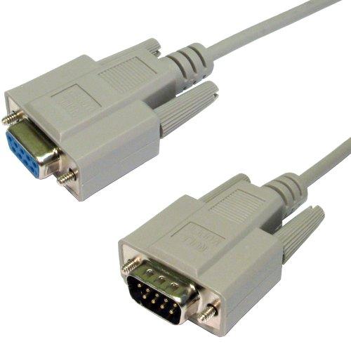 Db9f Modem (Seriell RS232 null Modem Kabel DB9F Zum DB9M 9 Polig 2 m)