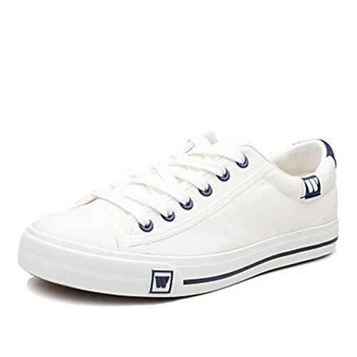 igen leinwand schuhe, schuhe casual mode farbe auf leinwand.,weiße,36 ()