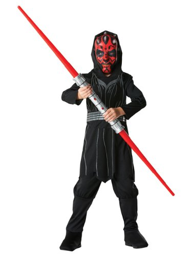 Darth Maul Star Wars Kinder Kostüm Kostüme Größe Small Alter 3-4 Jahre