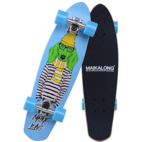 Jolly Skateboards Pro 27 Zoll Komplette Skateboards für Jugendliche, Anfänger, Mädchen, Jungen, Kinder, Erwachsene (Color : C) -