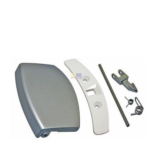 Original AEG Electrolux Juno Türgriff Griff kpl Waschmaschine silber 405508555/1