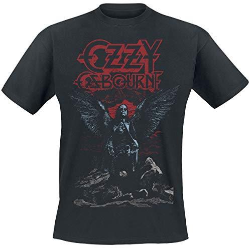 Ozzy Osbourne Angel Wings Camiseta Negro XL