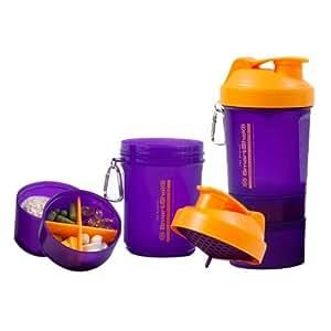SmartShake Orange Zest Edition Purple Orange Shaker
