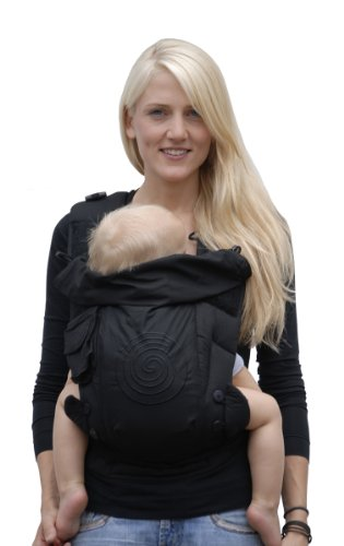 Bondolino® Porte-bébé noir   1dbe5bfa0b3
