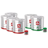 illy Iperespresso 126 Coffee Capsules - Mixed Case, Classic & Decaffeinated