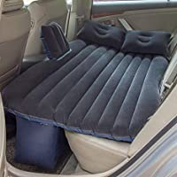 Scb Products Car Inflatable Bed Suitable For All Types Of Cars (Black)