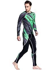 Combinaisons De Surf Pour Hommes Combinaison De Plongée Costume De Plongée Multicolore Multi-taille