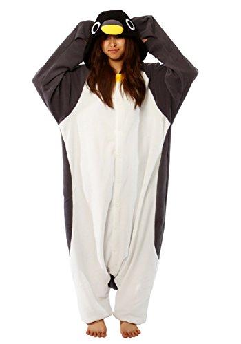 Kostüm Pinguin Kigu - Fleece Pyjama Kigurumi - Penguin